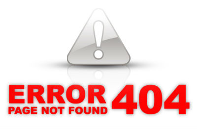 Web Page not found